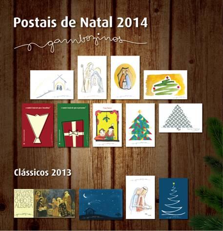 Postais de Natal dos Gambozinhos
