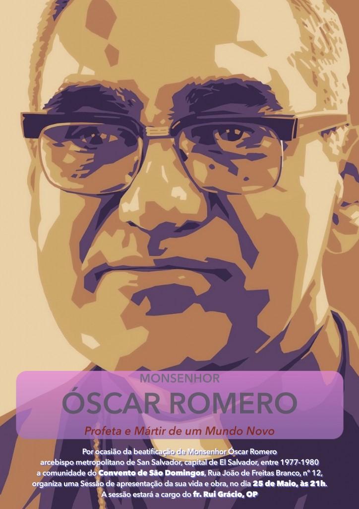 Cartaz Livro Óscar Romero